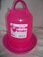 Pink 3 Litre Chicken Drinker