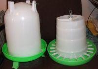 4Litre drinker,3kgs feeder